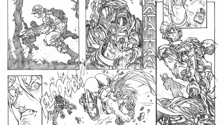 Ilustración Estilo Manga